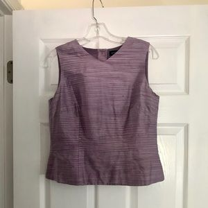 Stylish, silk ANN Taylor top.